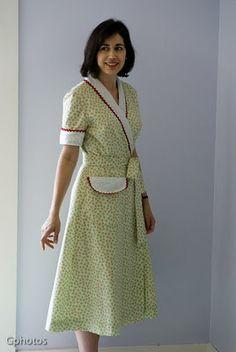 1000 Images About Vintage House Dresses On Pinterest