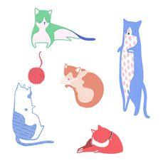 Little Doodles: World Cat Day-Kate Wilson