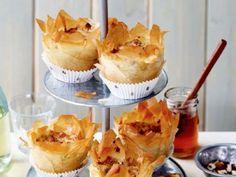 Minipastinaakquiches met camembert en tijm - Libelle Lekker!