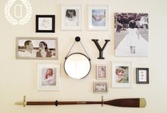 coastal inspired gallery wall - Google Search
