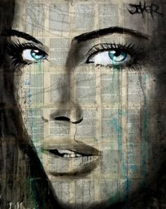"""Loui Jover """"cobwebs"""" Abstract Portrait, Portrait Art, Pictures To Draw, Art Pictures, Face Sketch, Drawing Artist, Illustration Sketches, Beautiful Drawings, Art Journal Inspiration"""