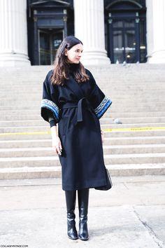 New_York_Fashion_Week-Street_Style-Fall_Winter-2015-Kimono-