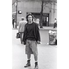 WEBSTA @douglaskeeve Keanu casual Fridays. Shoot for interview magazine. Keanu offered to bring his kilt.