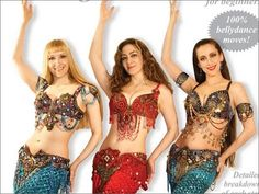 """""""Luscious: The Belly Dance Workout"""" DVD / video by Neon – World Dance New York"""