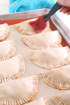 These easy to make Beef Empanadas are worth a second look with updated post text and all new images. These Beef Empanadas are also extremely easy to make and are a great addition to any tapas or party menu. Cuban Recipes, Cookbook Recipes, Beef Recipes, Cooking Recipes, Spanish Recipes, African Recipes, Beef Empanadas, Empanadas Recipe, Appetizer Recipes