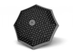 Doppler Mini Fiber Black & White dámský skládací deštník - Značkové deštníky Women's Umbrellas, Ladies Umbrella, Black And White, Mini, Accessories, Design, Black N White, Black White