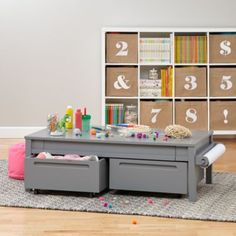 """15"""" Extracurricular Play Table (Grey)  