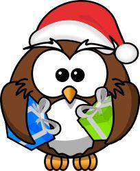 Santa Owl by bocian - Santa Owl