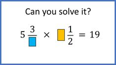 A very challenging question about fractions Brain Teasers, Fractions, Riddles, Mathematics, Kids, Math, Young Children, Mind Games, Boys
