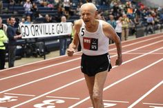 98-Year-Old Sets World Indoor 1500 Meter Record