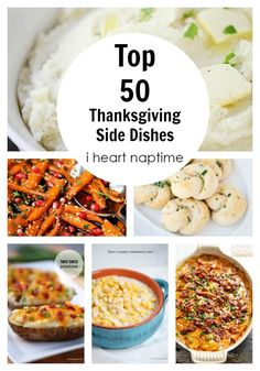 Looking for the best side dishes to serve at Thanksgiving or Christmas? We have 50 ideas and recipes!