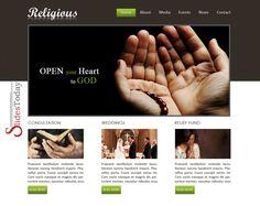 Religious Web Template