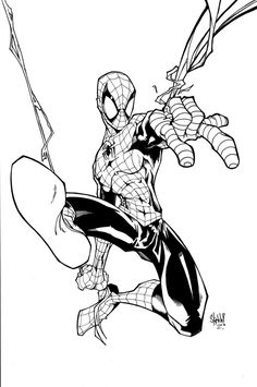 Spidy lines by sketchheavy