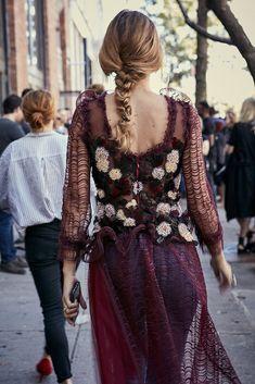 Street Style: mujeres con estilo en New York Fashion Week