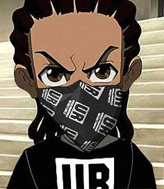 The Boondocks Riley Gun | Riley Freeman-The Boondocks