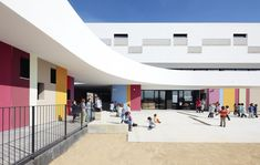 Image 8 of 16 from gallery of Binissalem School Complex / RIPOLLTIZON. Photograph by José Hevia