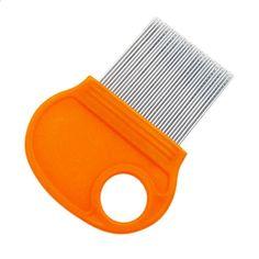 random-B Transer Hair Lice Comb Brushes Terminator Fine Egg Dust Nit Free Removal Stainless Steel