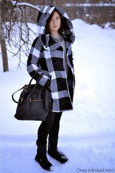 Oman elämänsä malli: Helmikuu, #winterjacket #vilajacket leatherboots #winteroutfit #bloggeroutfit #streetstyle
