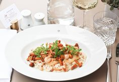 Small Boutique Hotels, Vienna Hotel, Pasta Salad, Risotto, Lunch, Ethnic Recipes, Food, Crab Pasta Salad, Eat Lunch