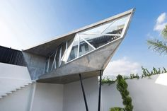 waaaat? | Faceted concrete capsule by Noborders Collective extends a Mexican residence | 灵感