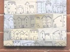 Drawing with your sewing machine with Janet Clare - YouTube