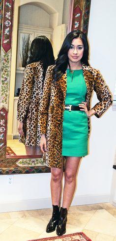 Leopard Craze! #booties #zara #clubmonaco #hermes #green #ootd #thev #thevonhaefen @clubmonaco @zaraofficial @ootdmagazine @melmarquez84
