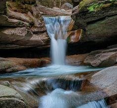 Sabbaday Falls in New Hampshire courtesy Nancy Marshall.