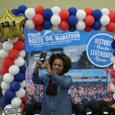 Look for the Selfie Station at the #RT66Run Expo. Block parties? #Selfie stations? Beer? It's not a sprint it's the @route66marathon. Register by Nov 3 and save! Route66marathon.com #9run8 #Marathon #RT66Run #Runner