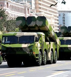 DF-10A Cruise Missile - Chinese Army