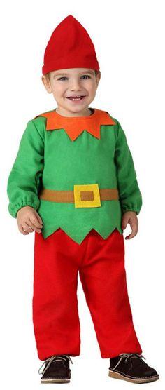 Déguisement petit lutin bébé Noël : Deguise-toi, achat de Déguisements enfants