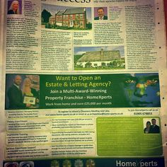 HomeXperts feature in The Times today. Pick up a copy to read why a franchisee estate agency model is popular with buyers and sellers.