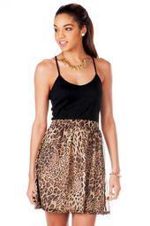 Serengeti Animal Print Dress
