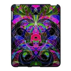 iPad Case Floral abstract background  http://www.zazzle.com/ipad_case_floral_abstract_background-176400995307808659