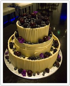 Top Fruit Wedding Cakes - 1
