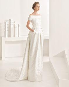 Nambia vestido de novia Rosa Clará 2017
