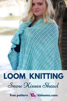 Round Loom Knitting, Loom Yarn, Loom Knitting Stitches, Loom Crochet, Loom Knitting Projects, Loom Weaving, Hand Knitting, Knitting Tutorials, Knitting Bags