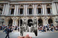 Paris past and present, Julien Knez