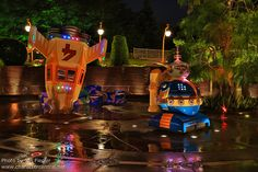 HKDL Oct 2012 - Tomorrowland at Night by PeterPanFan, via Flickr