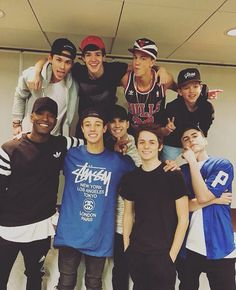 MAGCON 2016!!!! Look how small Jacob is ❤️