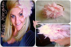 Anthropologie Flower Headband Tutorial ~ Eisy Morgan