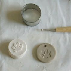 How to make a plaster stamp