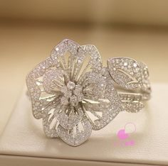 Boucheron diamond cuff via@likeab