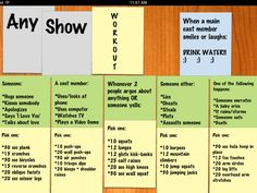 The Any TV Show workout!