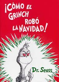 como el grinch robo la navidad Dr. Suess 5/15