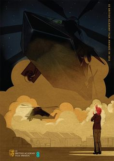Fantastic BAFTA Best Film Posters For Life of Pi, Argo, Les Misérables, Lincoln & Zero Dark Thirty