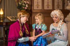 Princesas favoritas de Disney World....Anna y Elsa...
