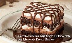 NutButterLuver: Carrabba's Italian Grill Sogno Di Cioccolata aka Chocolate Dream Remake