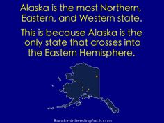 Fun Interesting States Facts- Alaska - US Geography Facts