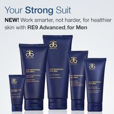 NEW!!  RE9 Advanced For Men. http://www.arbonne.com/discover/products/re9advanced_men.shtml