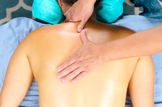 This Easy Partner Upper Back Massage Will Help You Release Stress